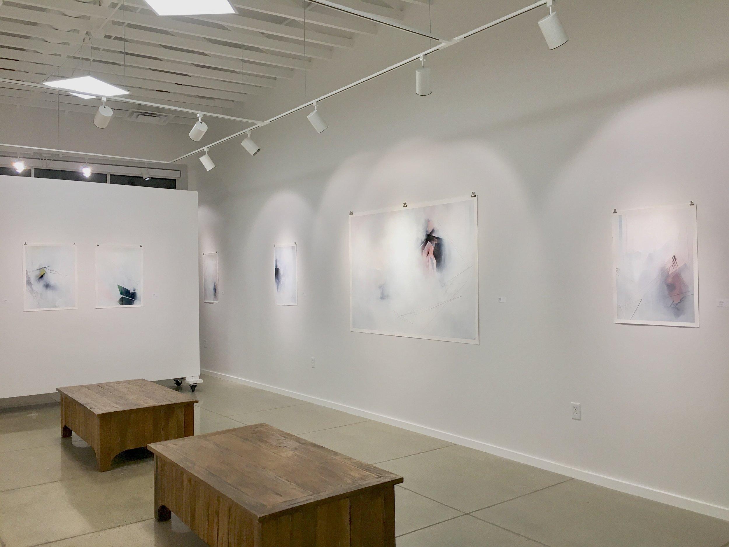 Exhibition view of  Janus