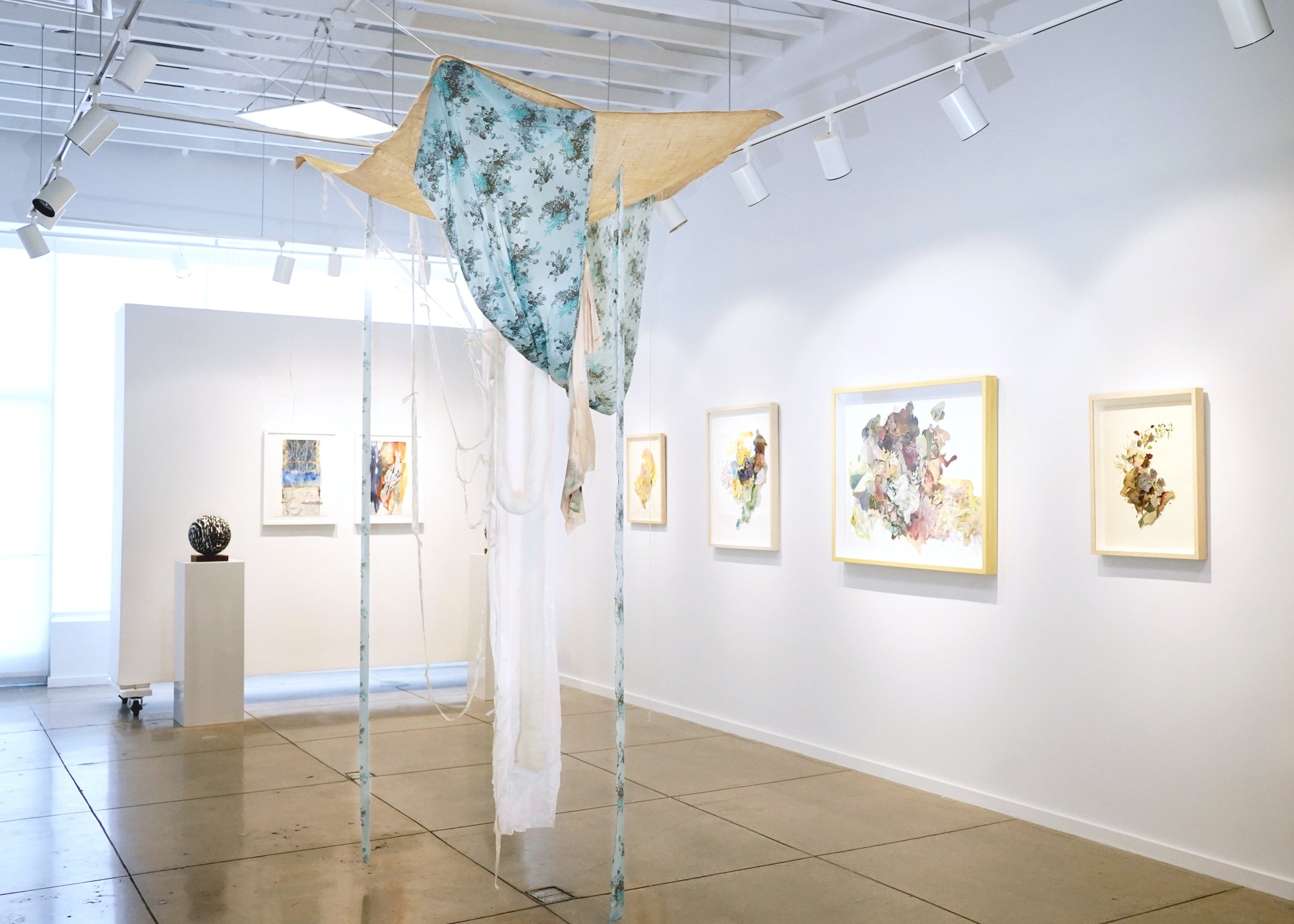 Exhibition view of  Subconscious Nature