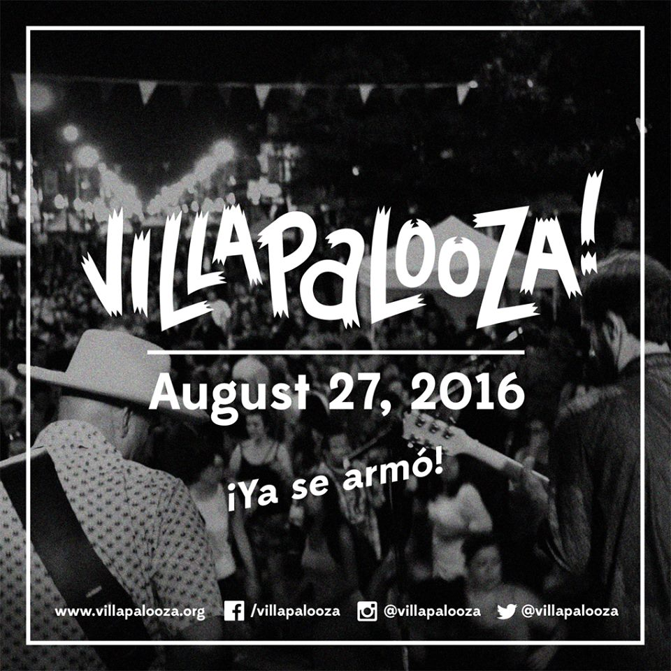 """Founded in 2011, Villapalooza is a free, all-day, all-ages music festival.   Drawing both local and international musicians, Villapalooza is one of Chicago's most popular and diverse grassroots music festivals."""