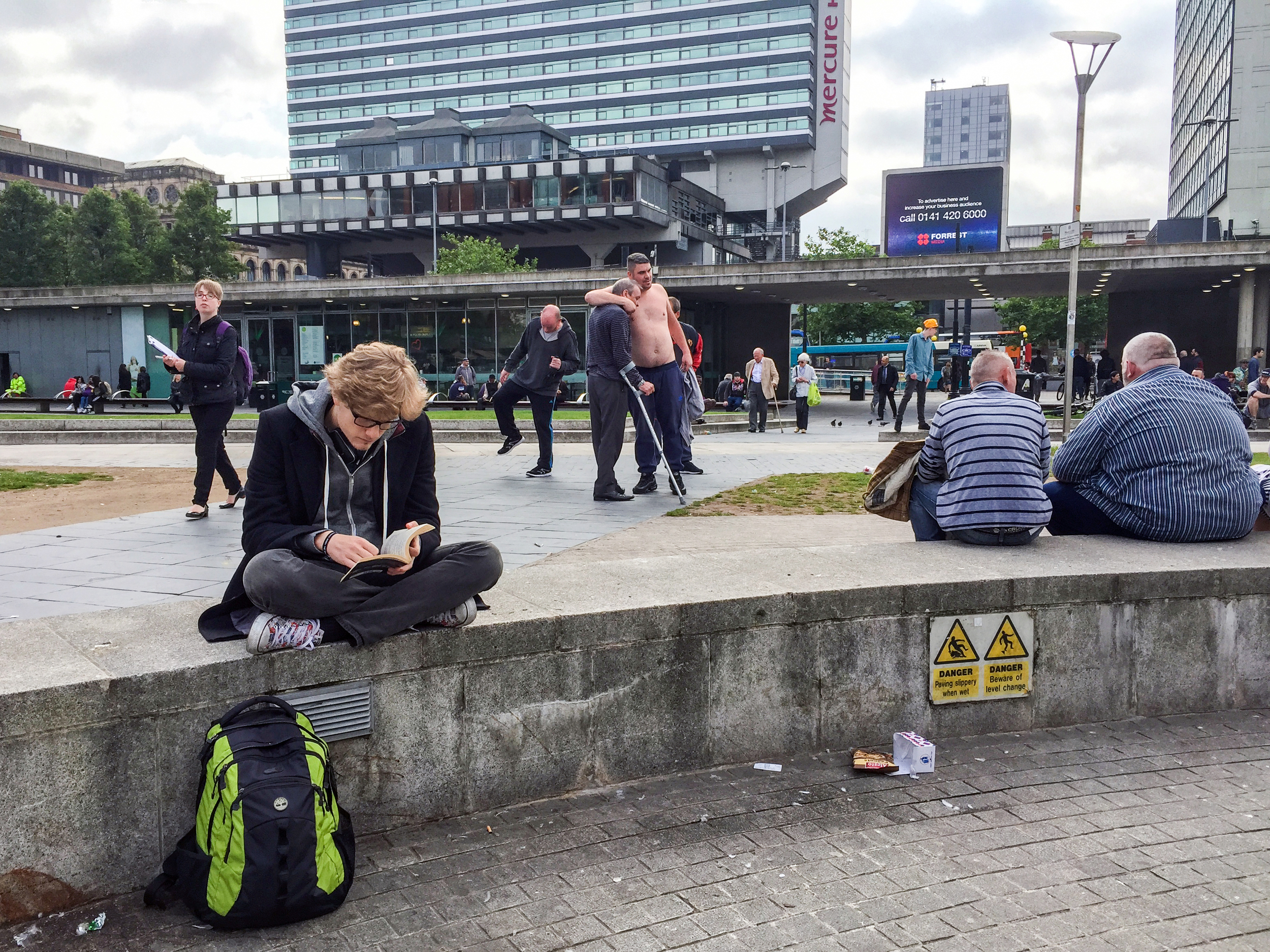 Piccadilly Gardens, Manchester © Adrian McGarry