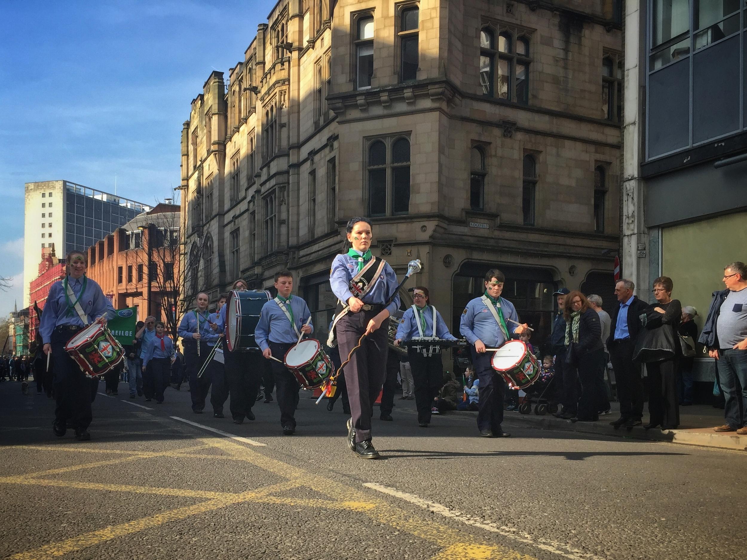 Manchester St Patricks parade