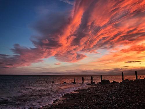 Llandulas Sunrise by Adrian McGarry
