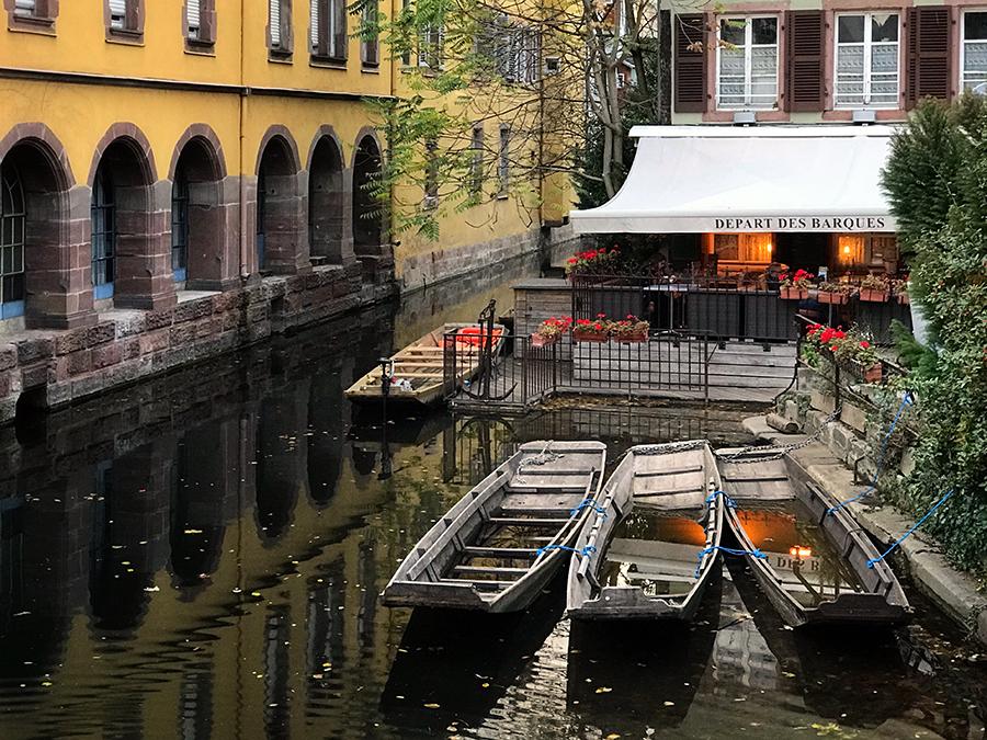La Petite Venise area of Colmar