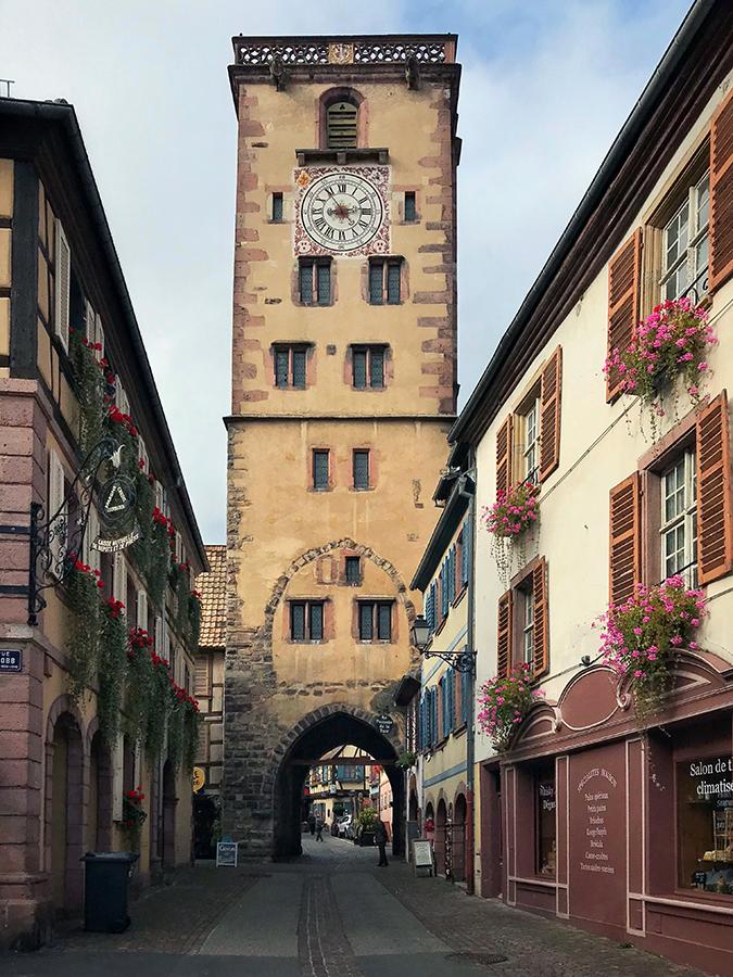 13th Century Tour des Bouchers (butchers' tower)
