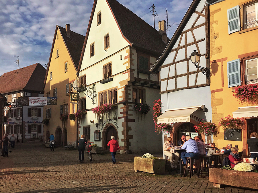 Ranked as one of the most beautiful villages in France, Eguisheim has a quaint, picturesque charm