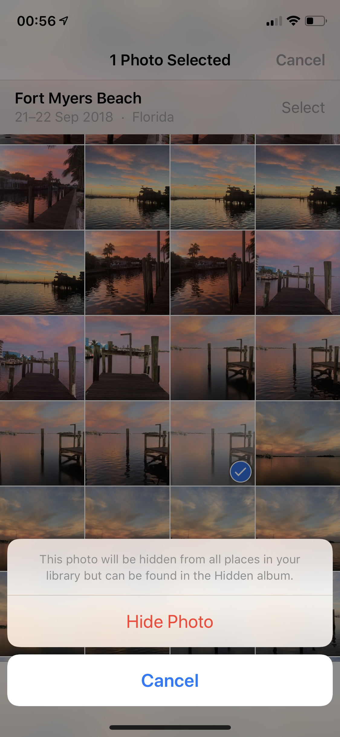 Hide iOS Photos Step 3