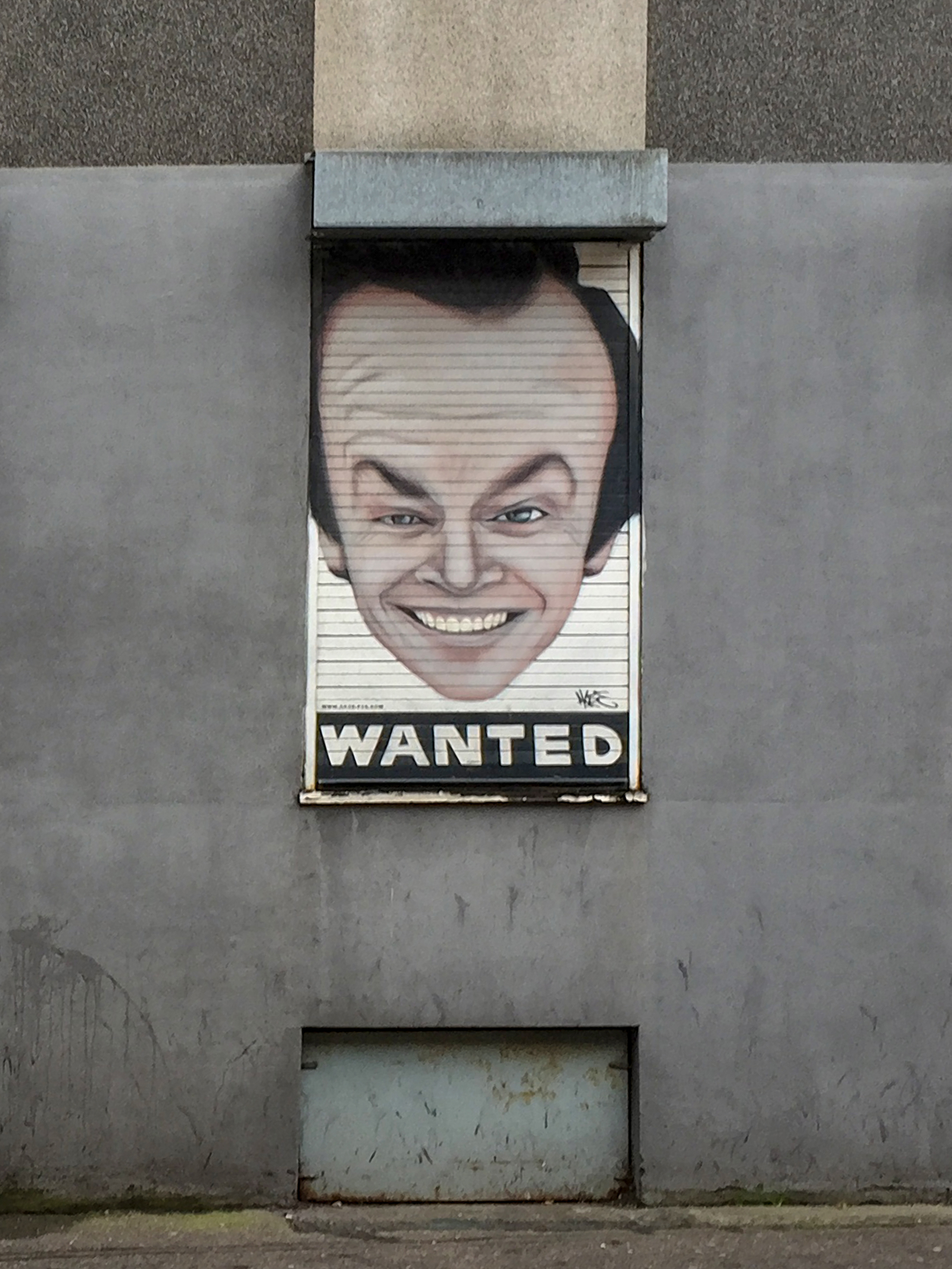 Jack Nicholson can be found on Newton Street, Northern Quarter.