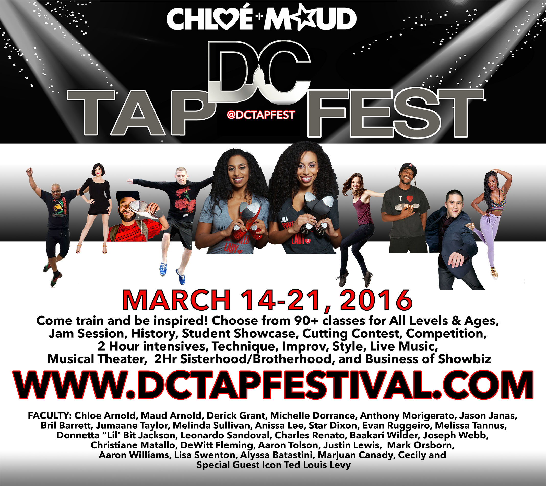 OPERATION: TAP had the opportunity to sit down with Chloe and Maud Arnold and talk about the 8th annual DC TAP FEST! Check out all of the details below!