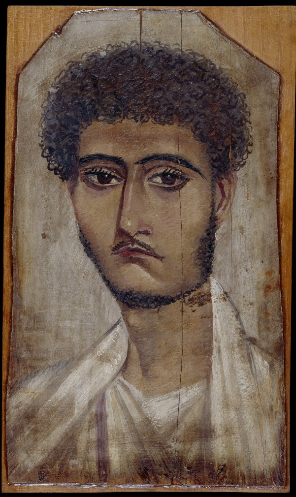 encaustic portrait young man from 100 to 120 AD.jpg
