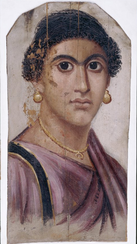 encaustic portrait woman from 100 to 120 AD.jpg