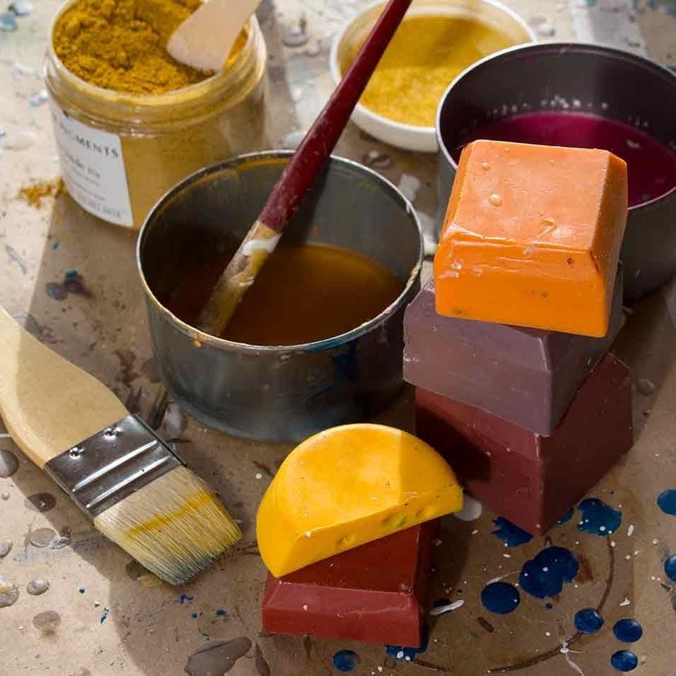 The Encaustic Paints
