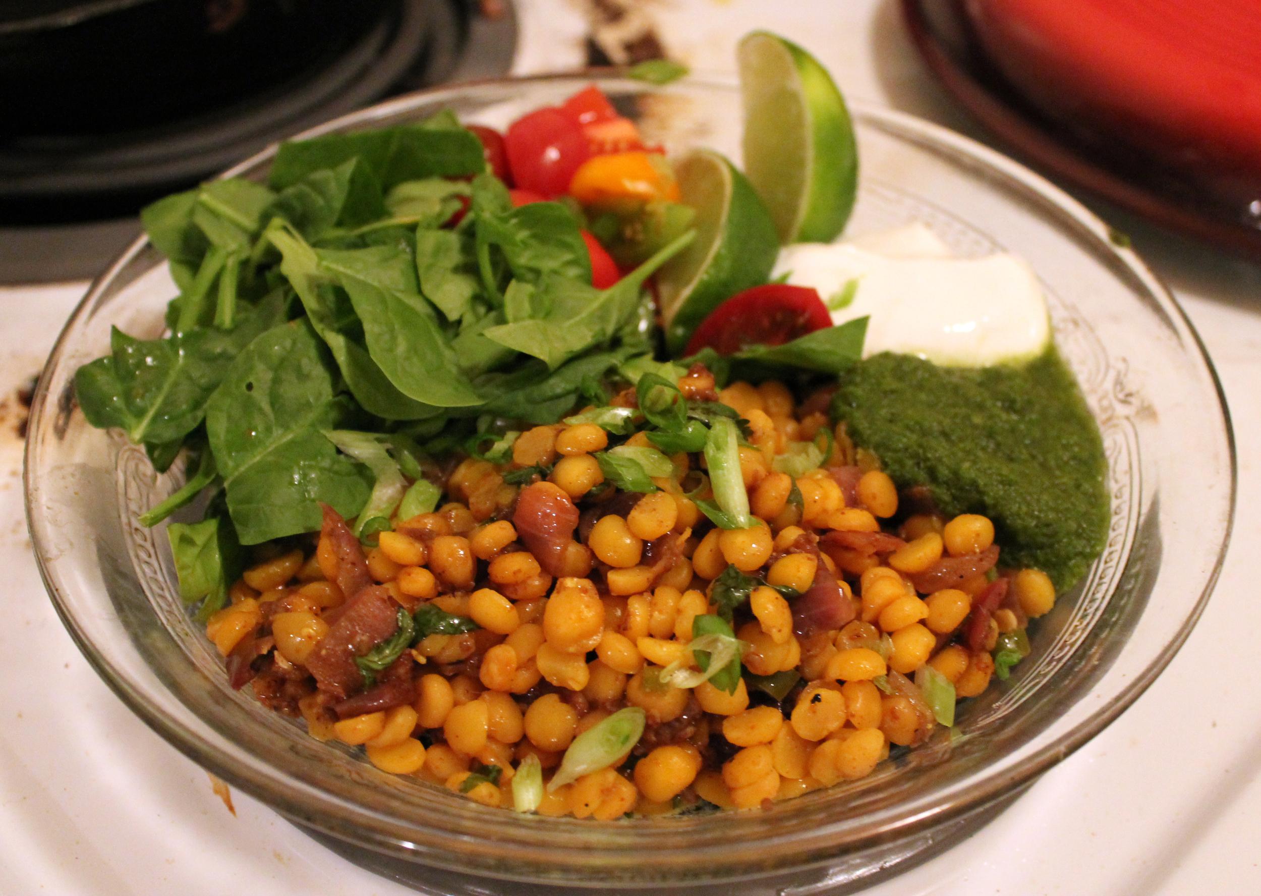 Indian burrito bowl, anyone?
