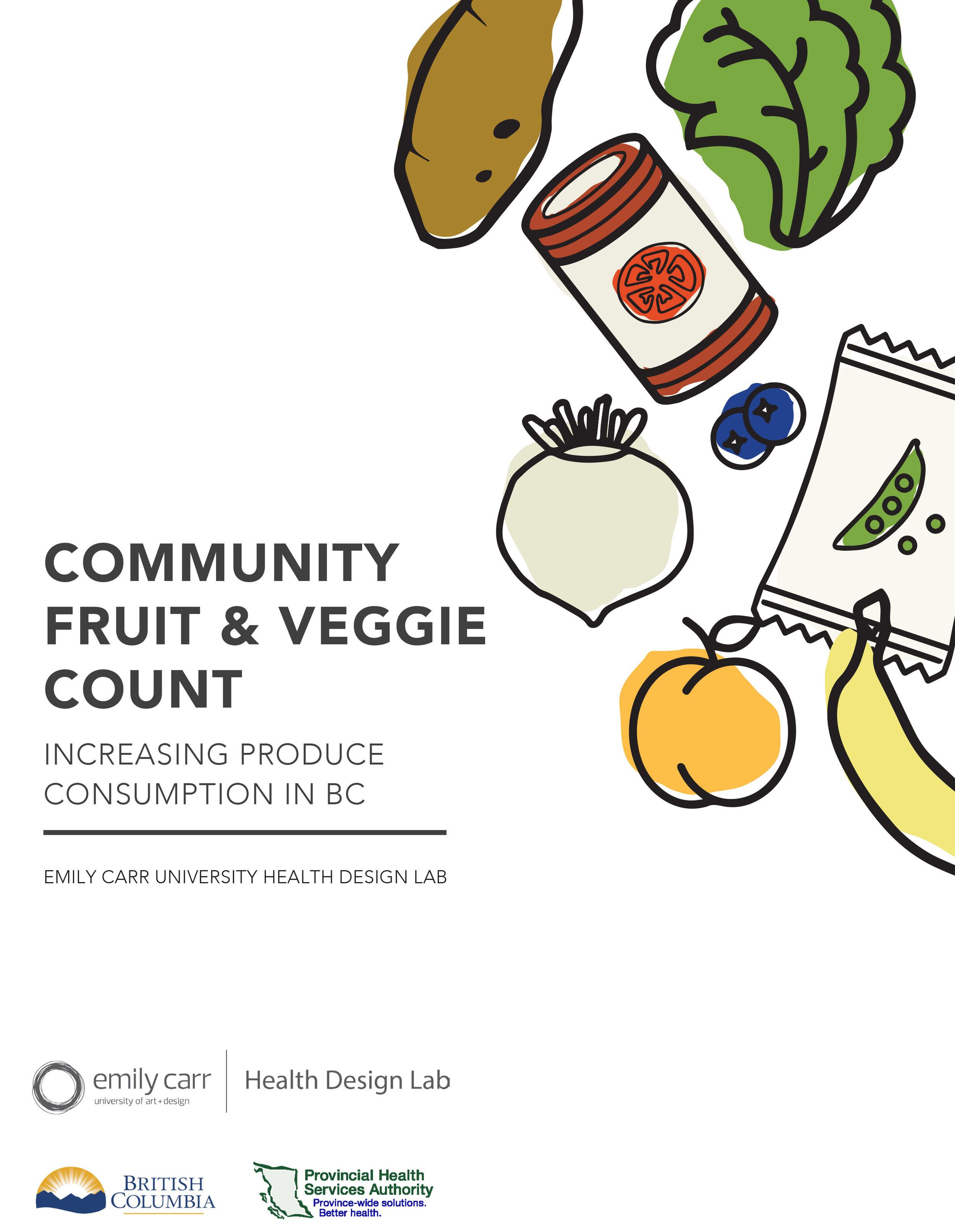 COMMUNITY FRUIT AND VEGGIE COUNT