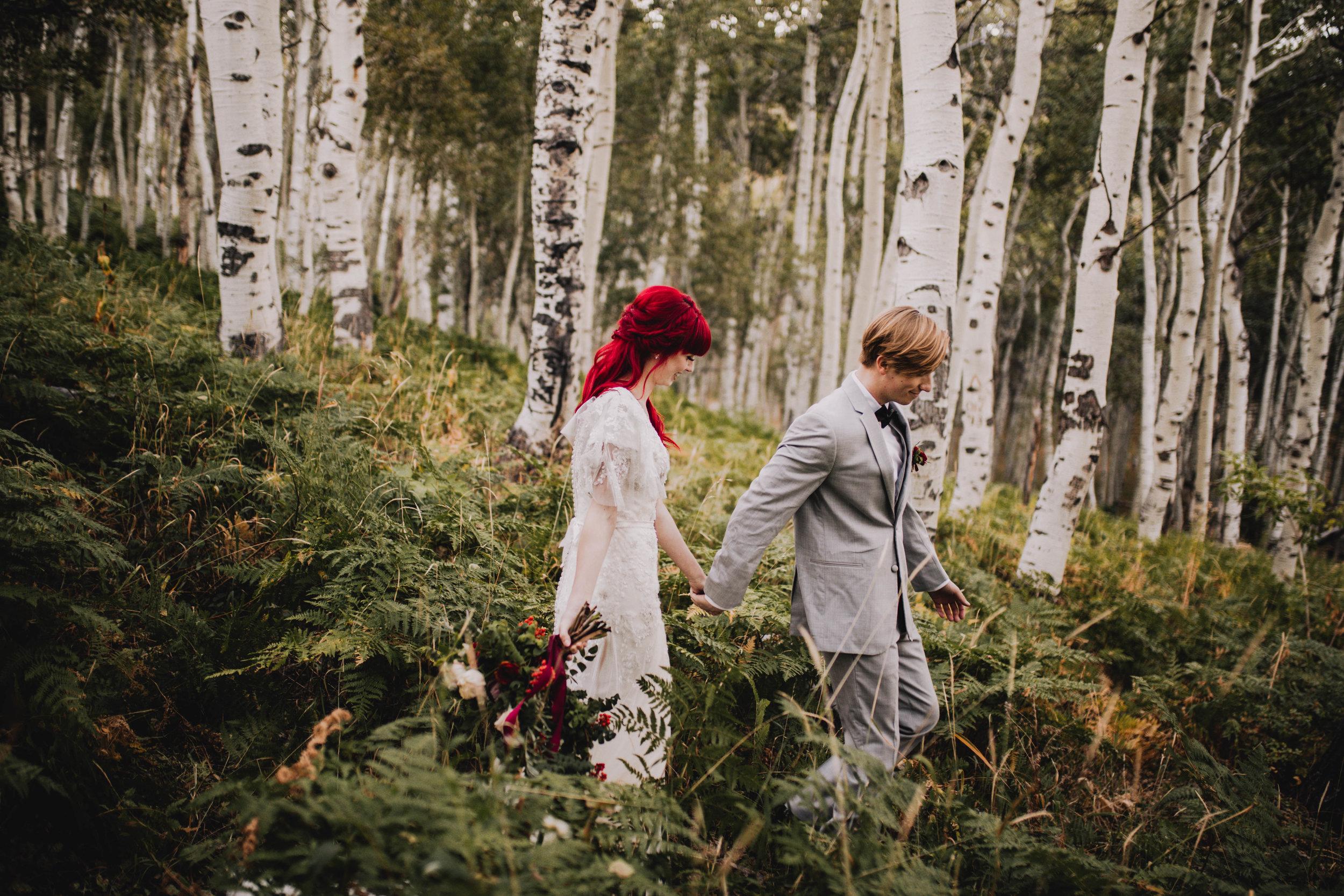Fall Bridals, Utah Mountain Shoot, Modest Dress, Cecilia Harvard Photography-2.jpg