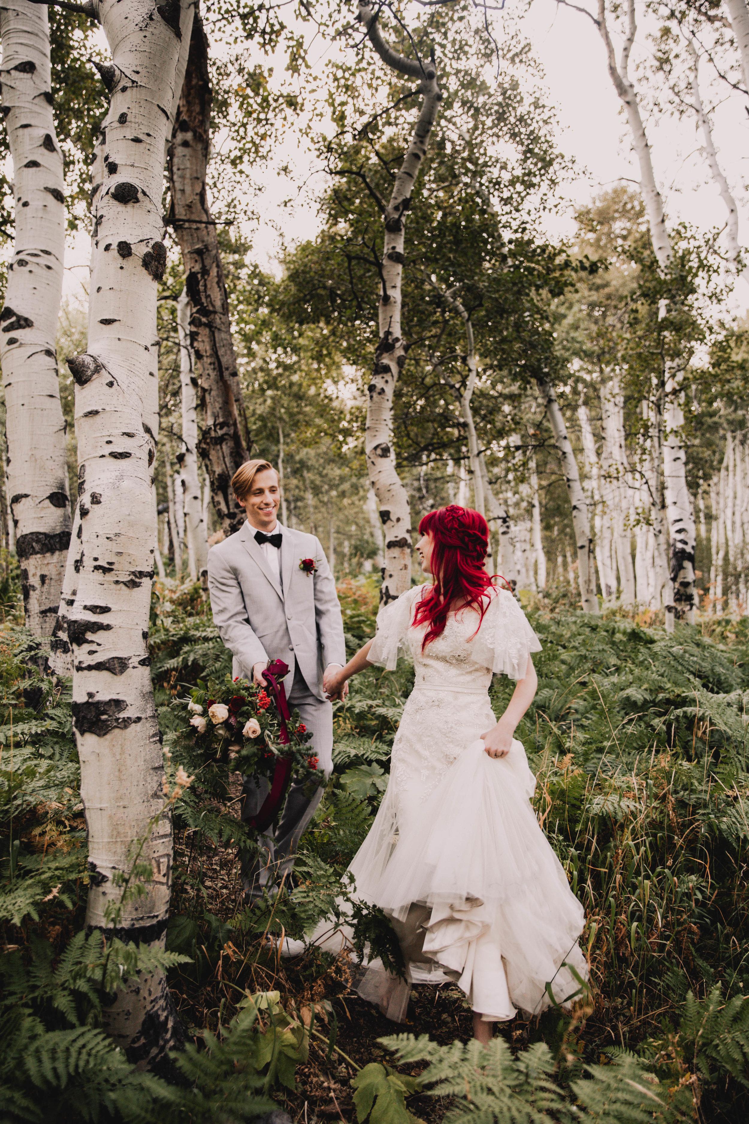 Fall Bridals, Utah Mountain Shoot, Modest Dress, Cecilia Harvard Photography-1.jpg