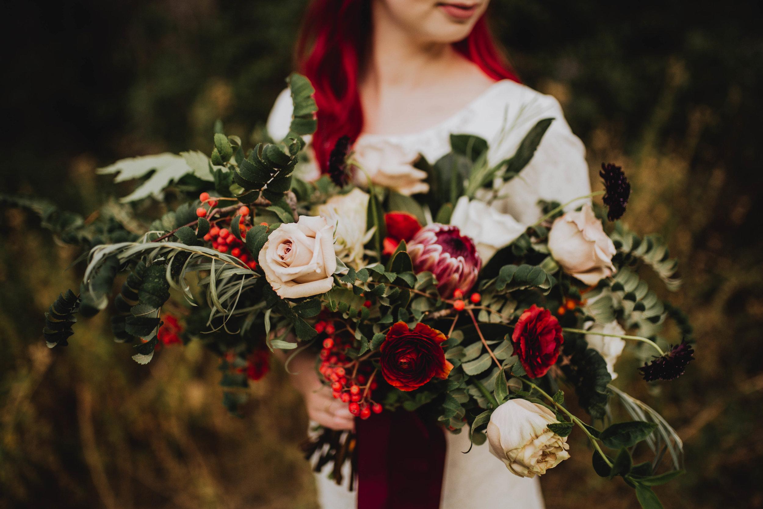 Fall Bridals, Utah Mountain Shoot, Modest Dress, Cecilia Harvard Photography-20.jpg