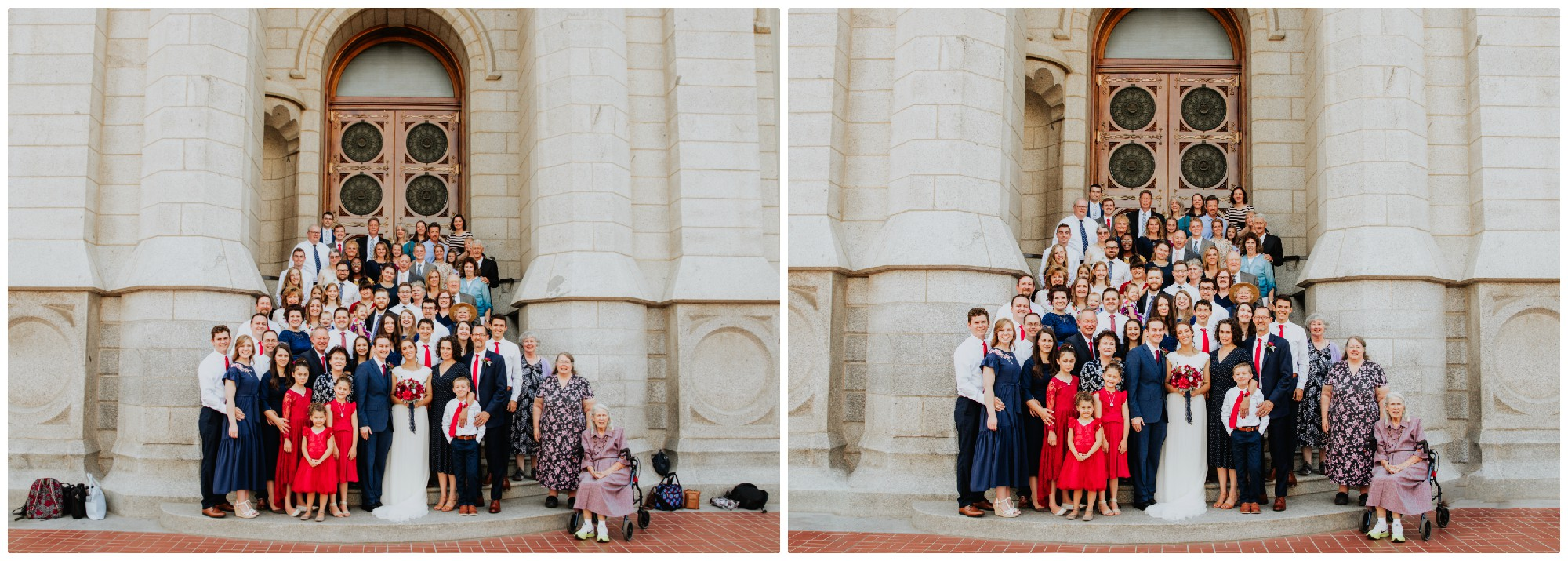 Left: Color Corrected Right: Re-touching