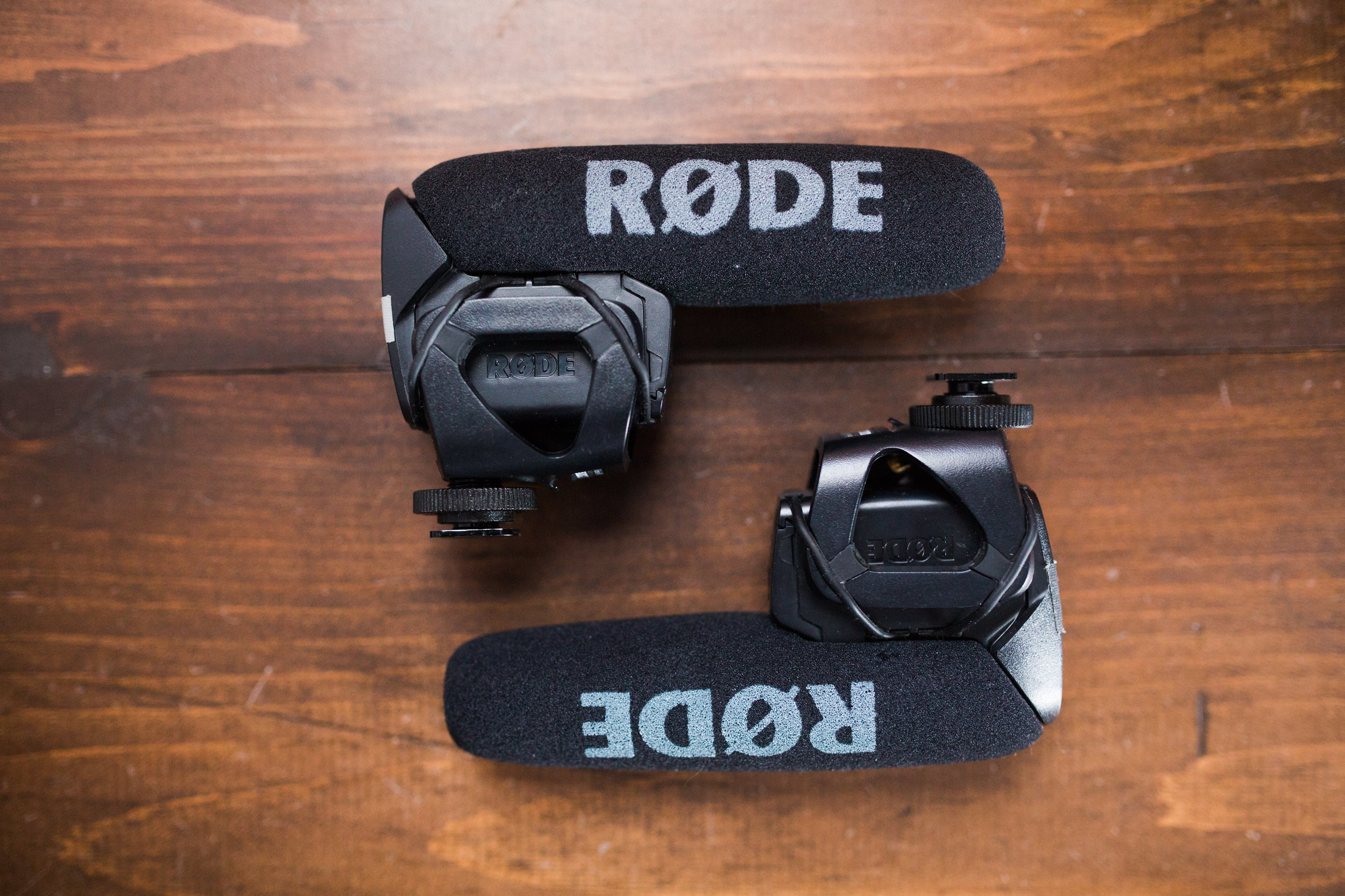 The Rode VideoMic Pro's are perfect for wedding filmmaking.  I put one on each of the C100's.  They are great for capturing audio throughout the day and I will even use them in a pinch for critical audio like a letter reading.