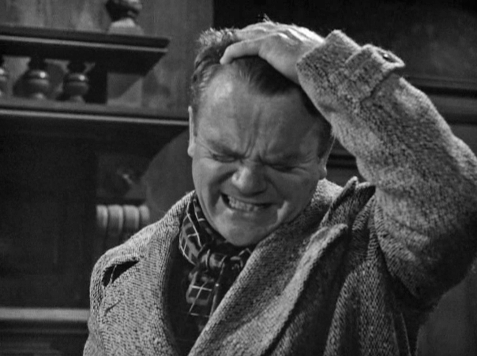 Crazy Cody Jarrett in Warner Bros'  White Heat  (1949)