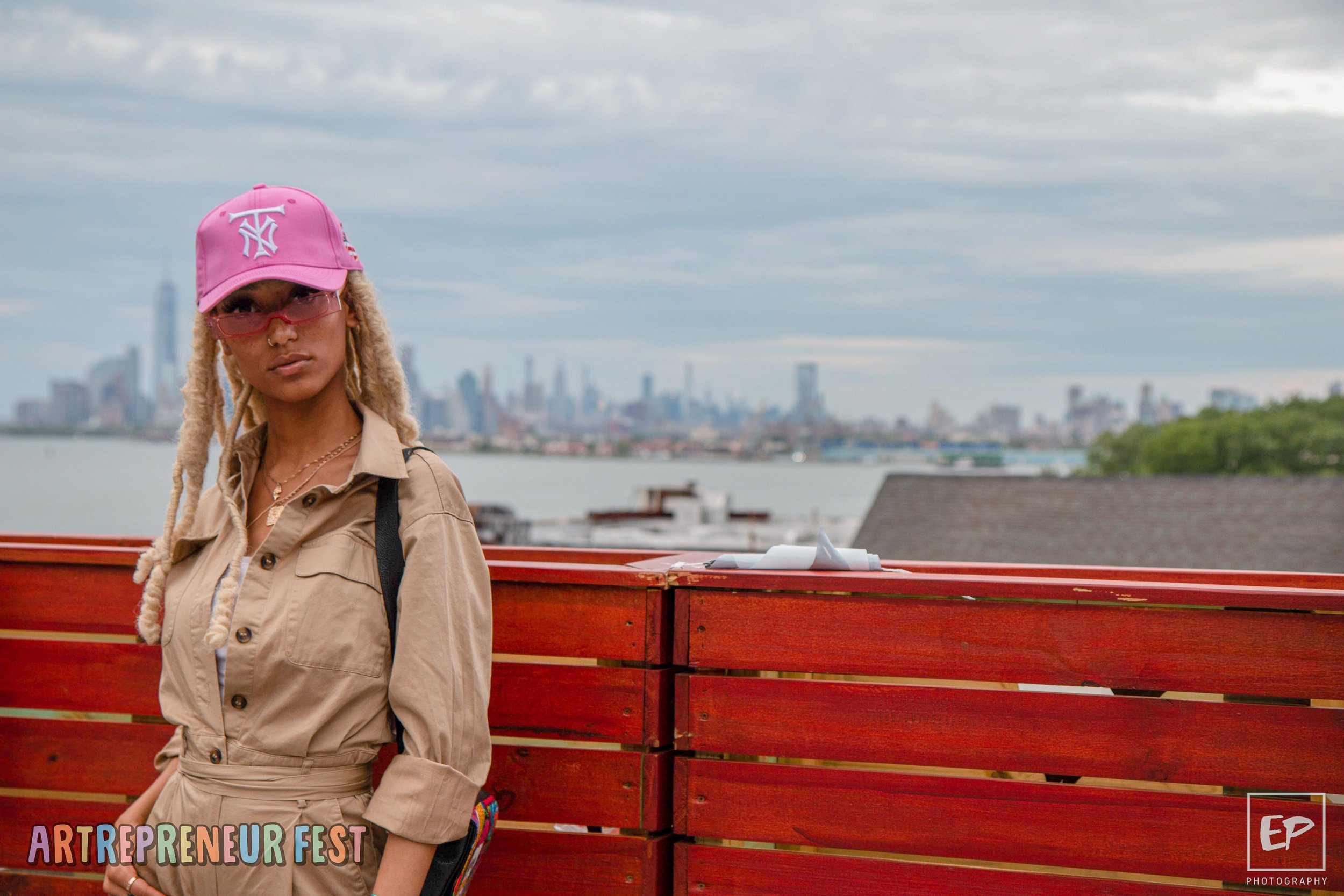 Hat: TIER NYC    photo by: @evangelines.jpg