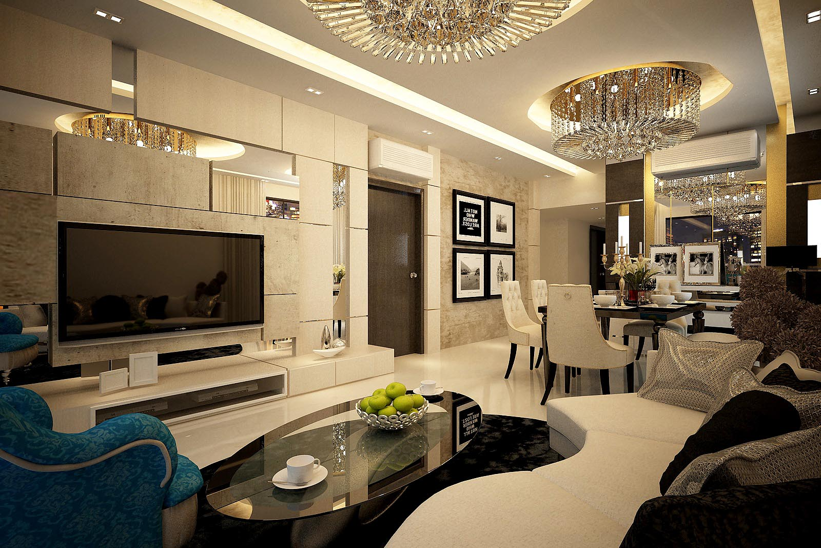 Posh Contemporary Design
