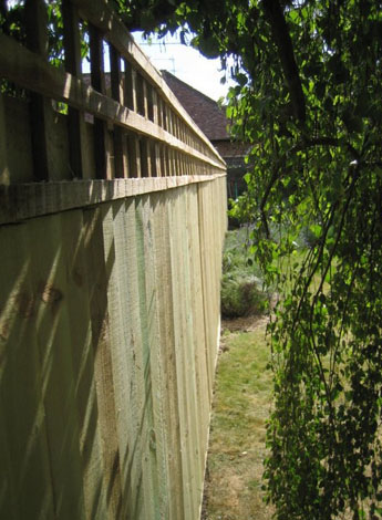 Wooden Fence Image
