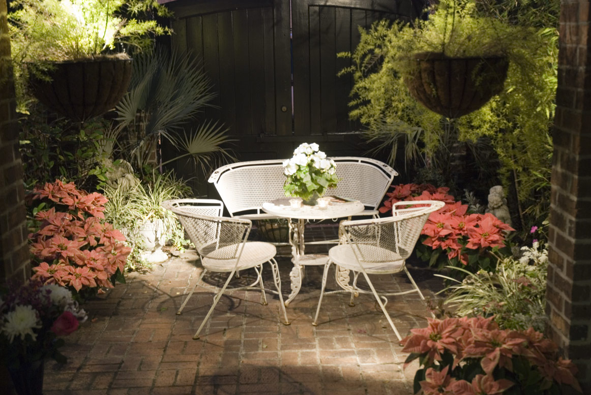Patio with Garden Furniture Photo