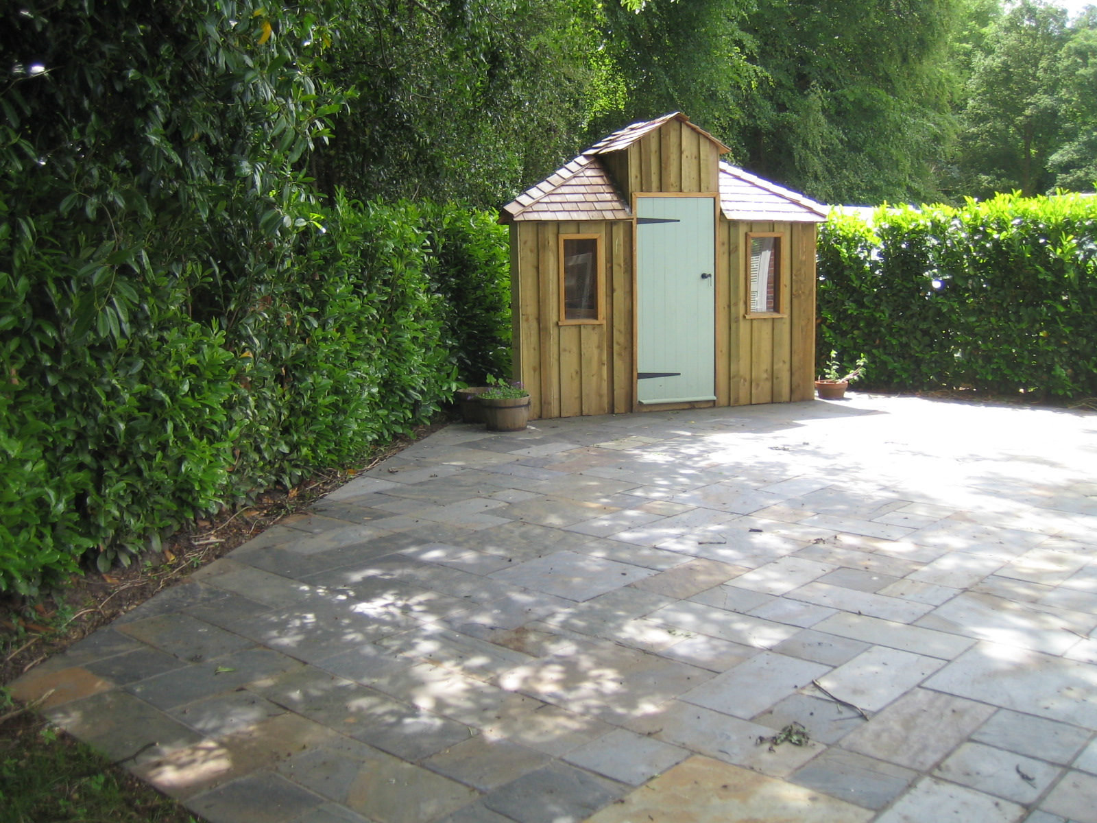 Patio and Shed Image