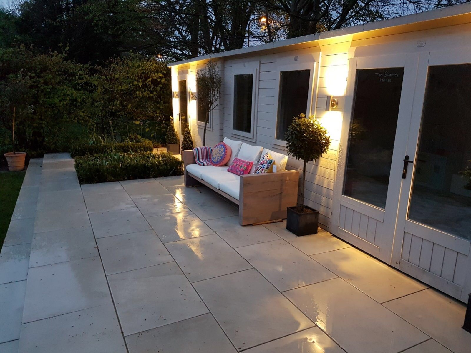 Large Patio Slabs, Different Shapes & Colours, Photo
