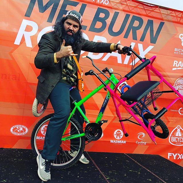 The Zimmer Bike #melbourneroubaix #melbourneroubaix2018