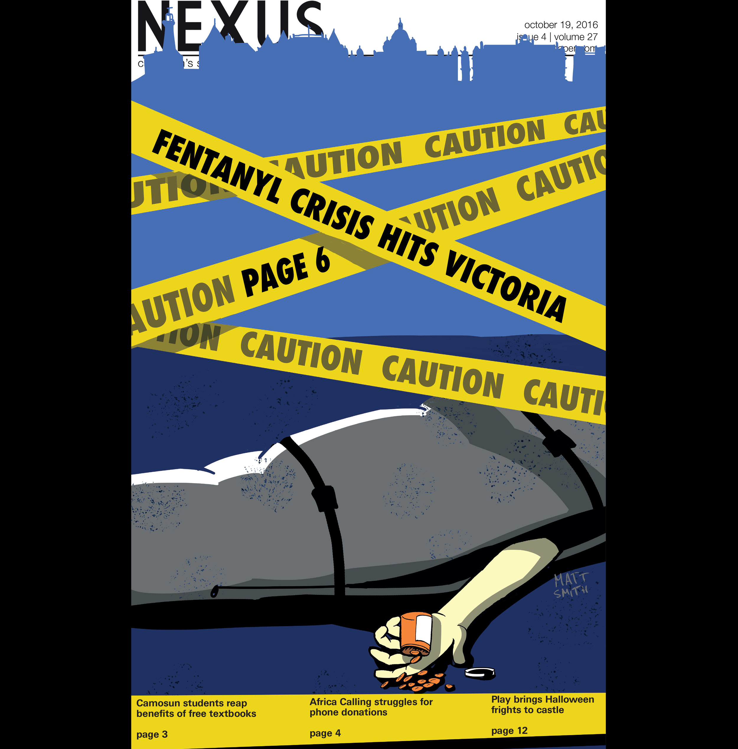 Cover for october 19, 2016 cover of the nexus .