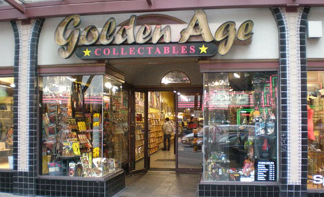 Golden Age Collectables - 852 Granville Street, Vancouver, BC, Canada604-683-2819