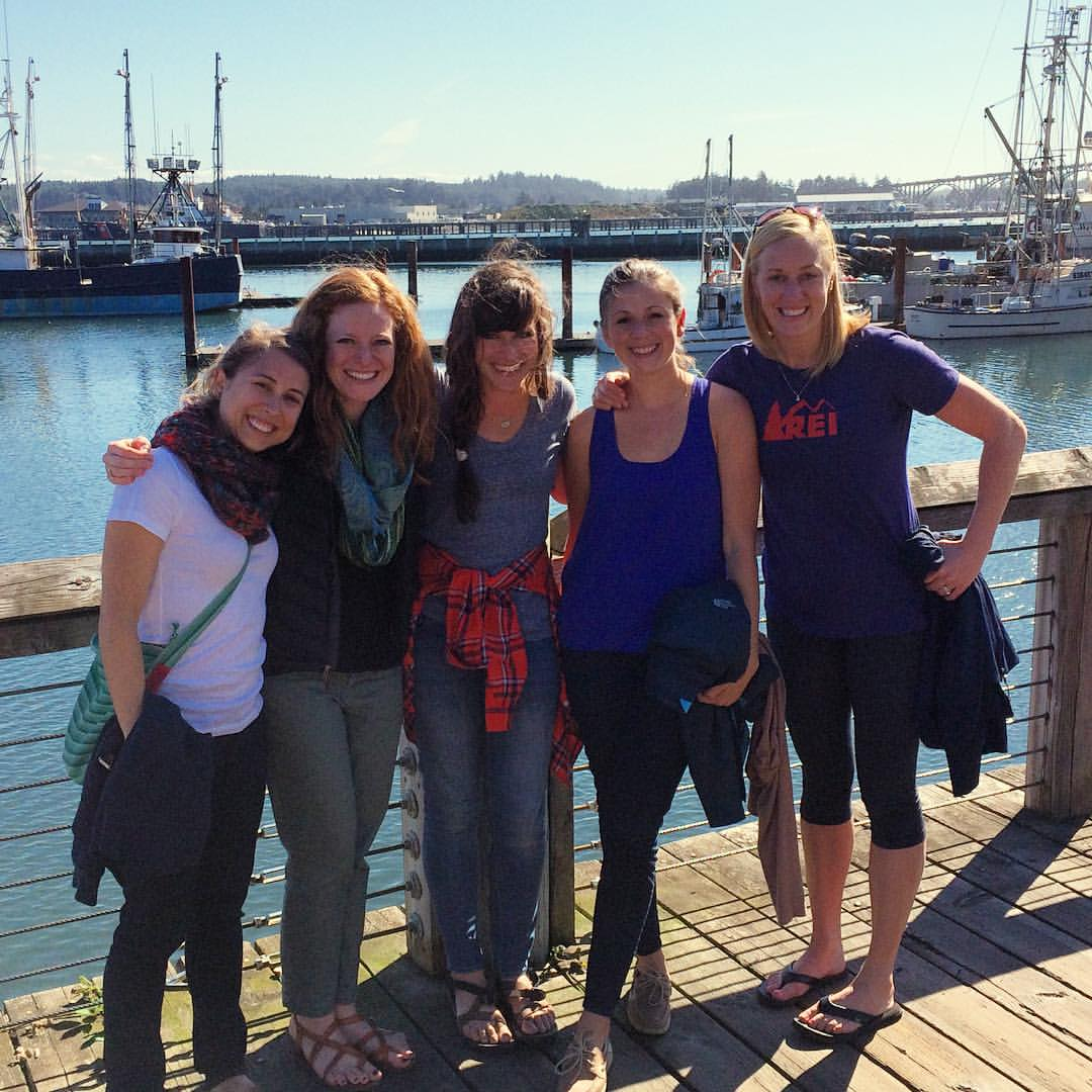 Here we are on the Pediatrics retreat this past fall! Lots of love for Nicole and the rest of these lovely ladies. :)