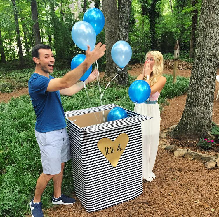 Oh yeah...Erin and Benjie are having a baby boy in November!