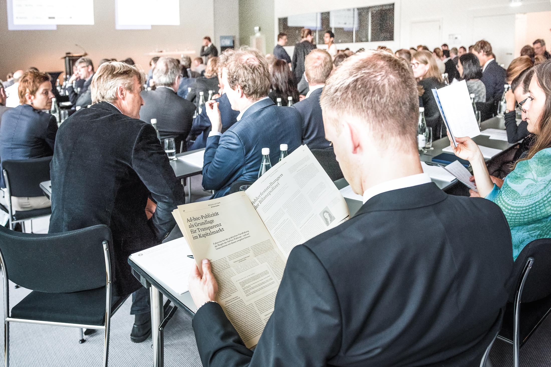 Das Geschäftsberichte-Symposium wird jährlich ausgerichtet vom Center for Corporate Reporting (CCR).   Initianten und Partner