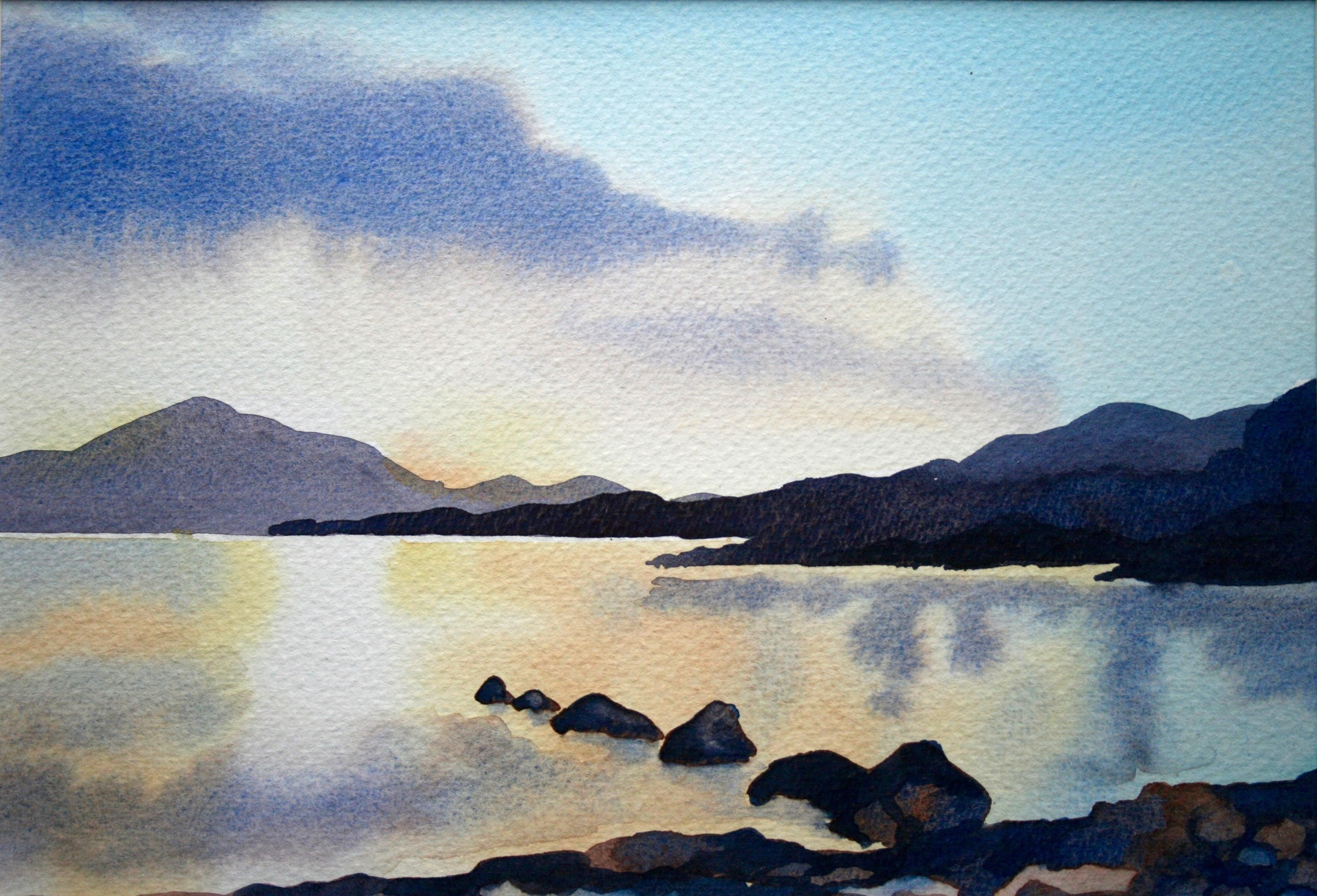 Loch Lomond Evening - sold