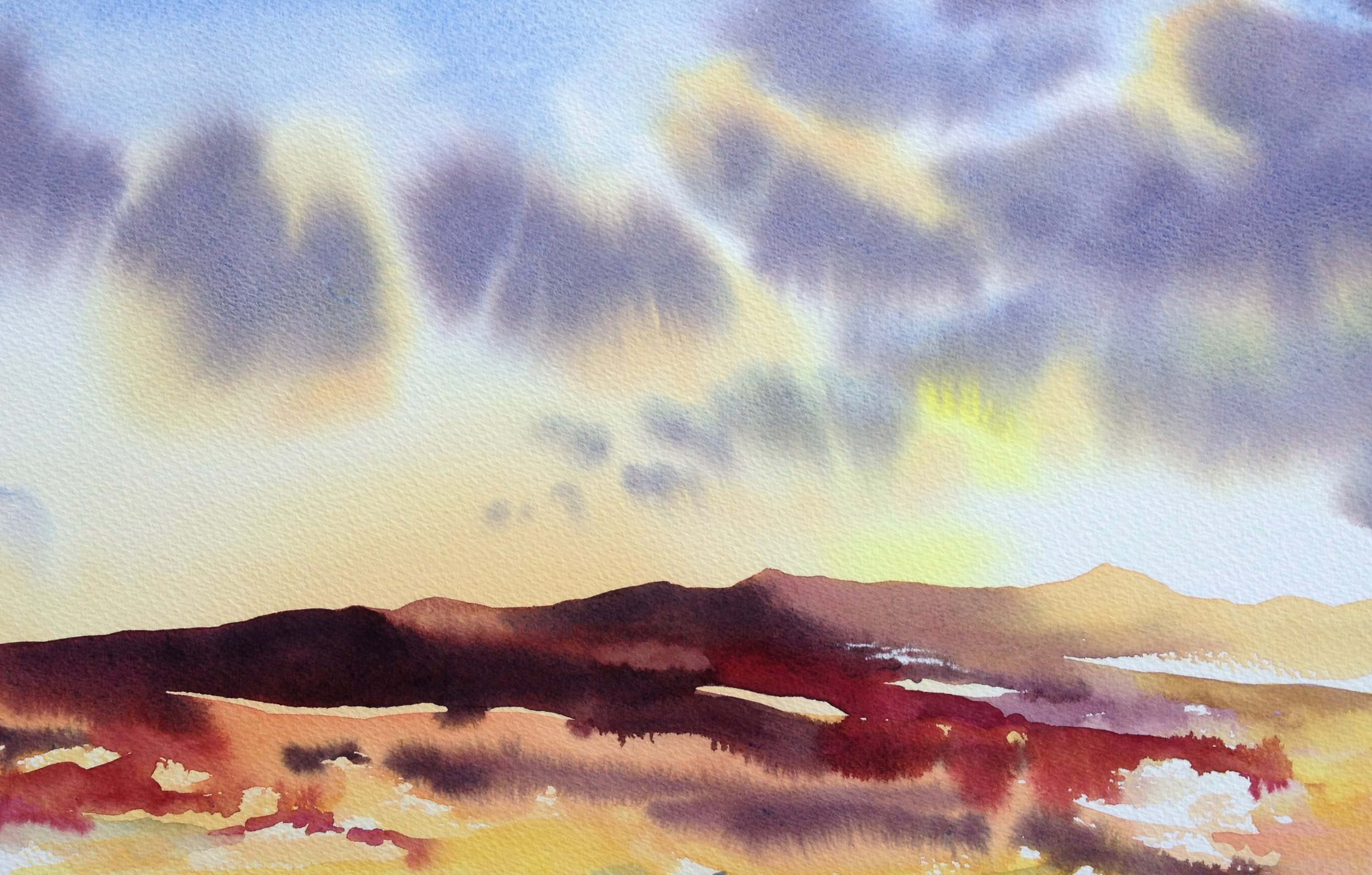 Sunset Towards Ben Lomond - sold