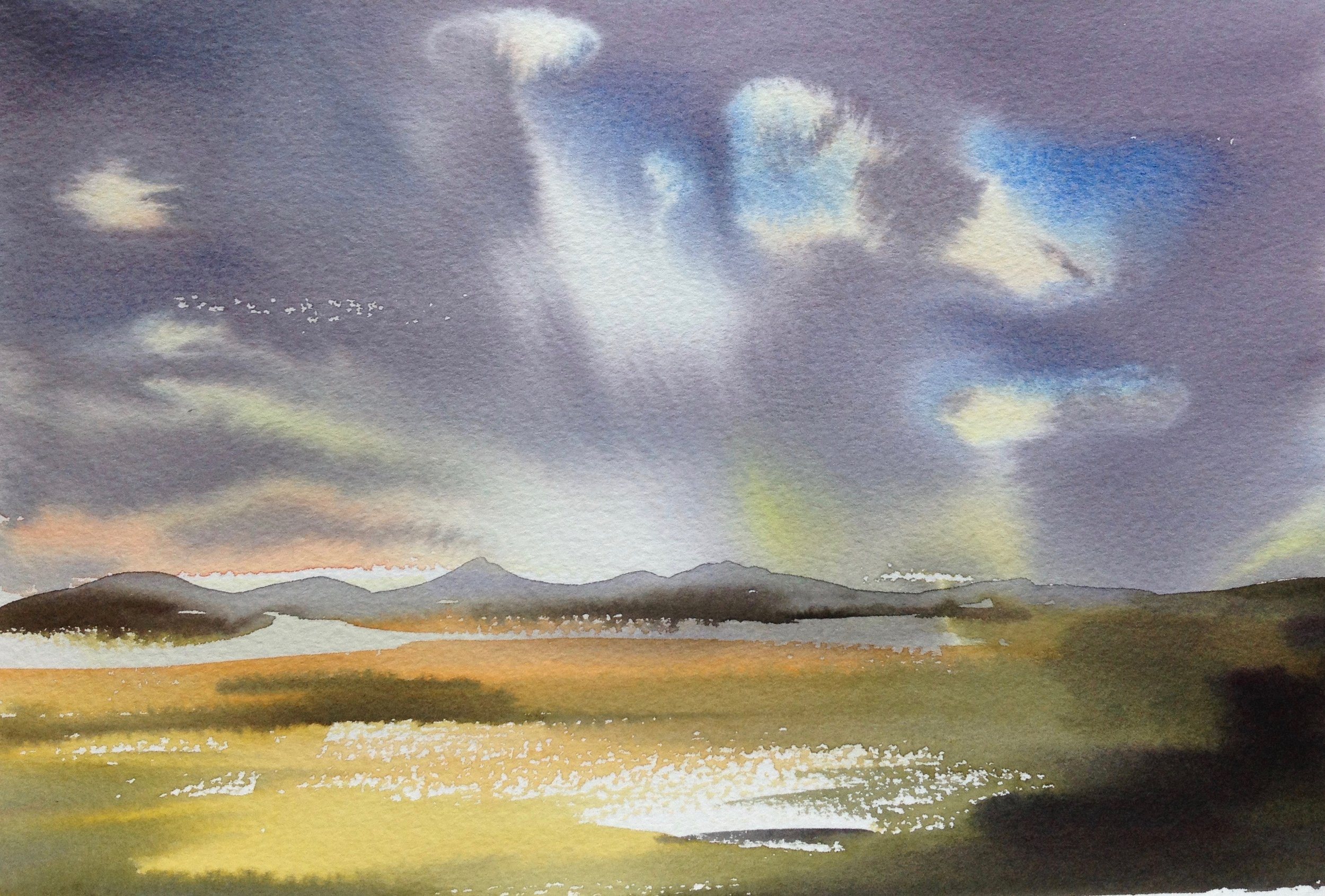 Evening Walk, Gartness - sold