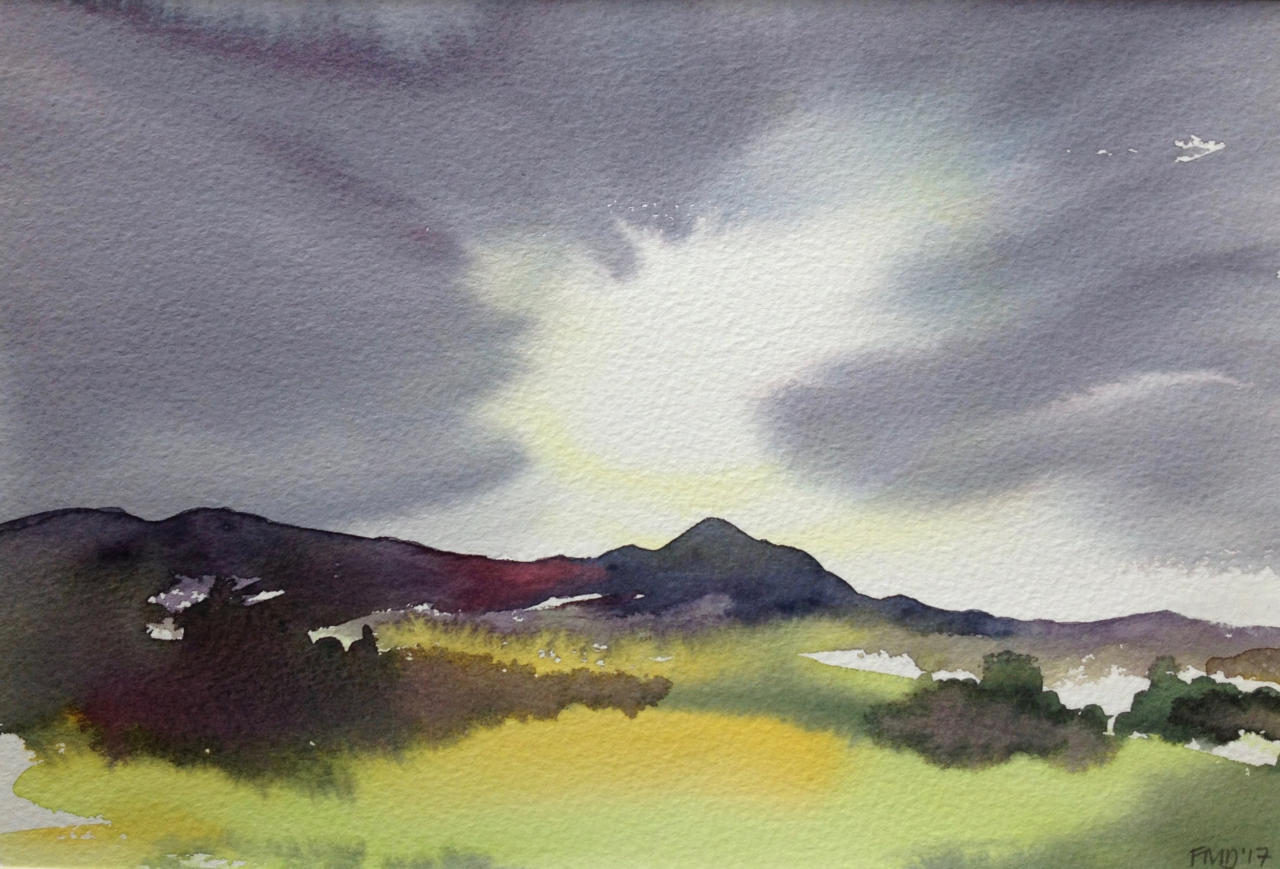Morning Light Over Dumgoyne - sold