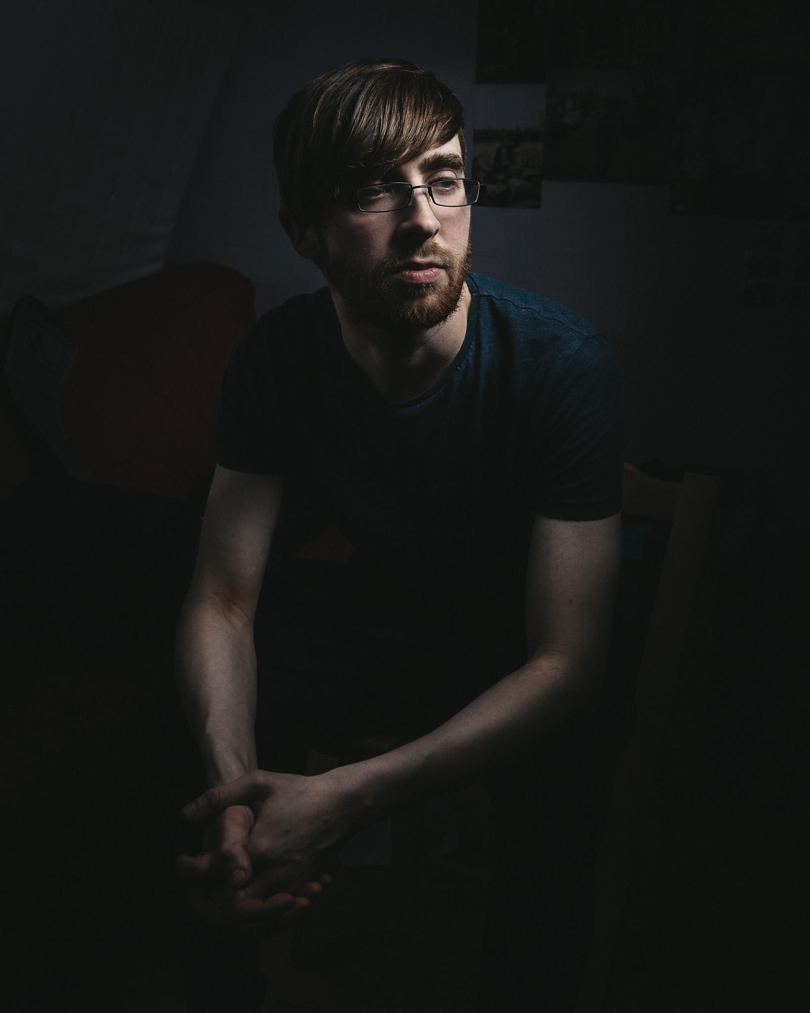 Portrait of London Based Independent Film Maker Robby Wartke a.k.a Autojektor