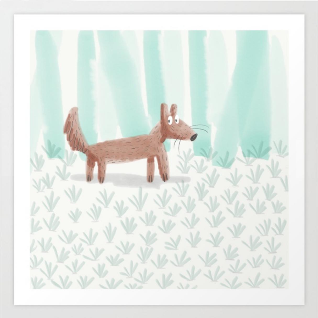 The Fox print