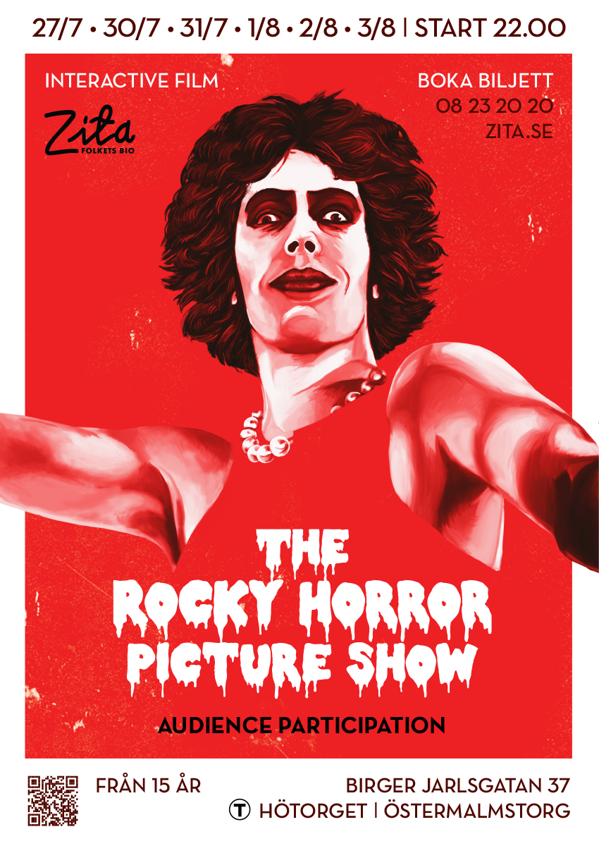 The Rocky Horror Picture Show  Zita Folkets Bio, 2018