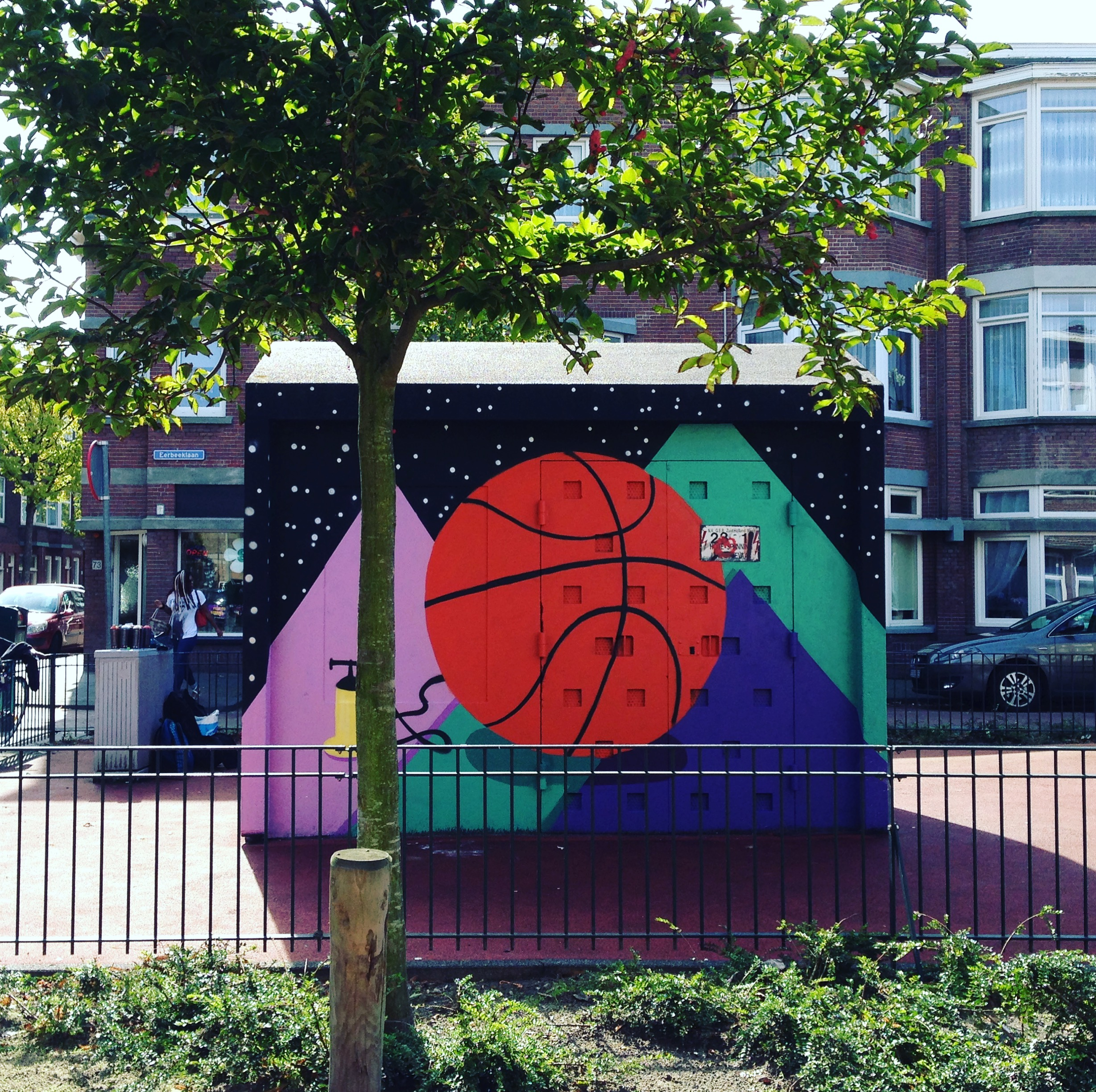 Space Ball |The Hague Street Art - Eerbeeklaan, Den HaagSummer 2017
