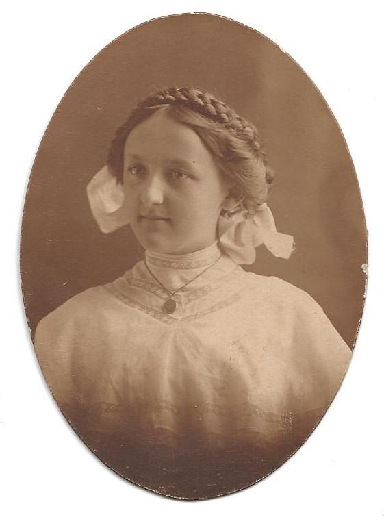 PORTRAIT OF GIRL - 1908