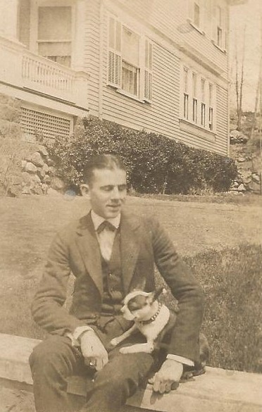 MAN AND HIS DOG - 1910