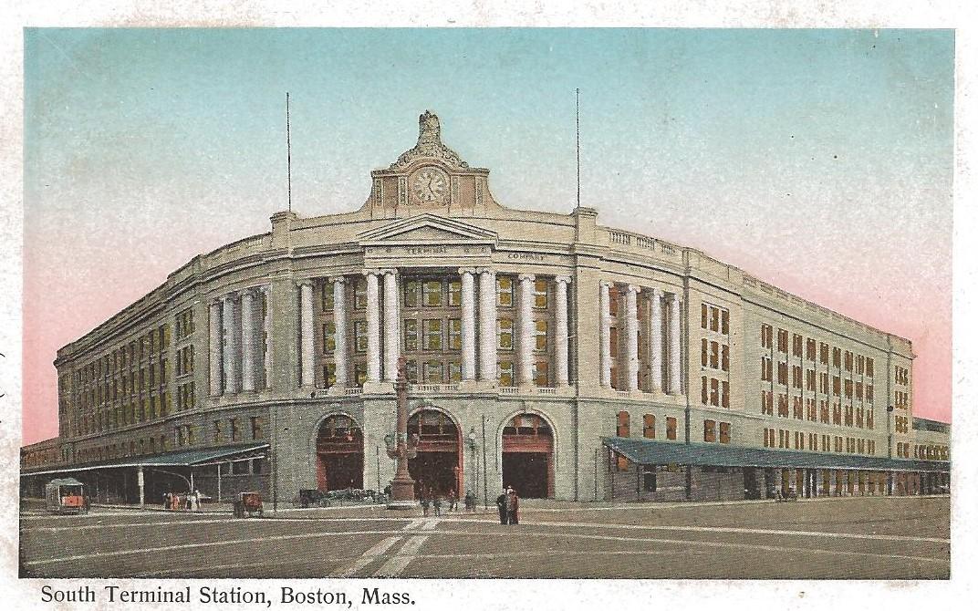 SOUTH STATION, BOSTON - 1904