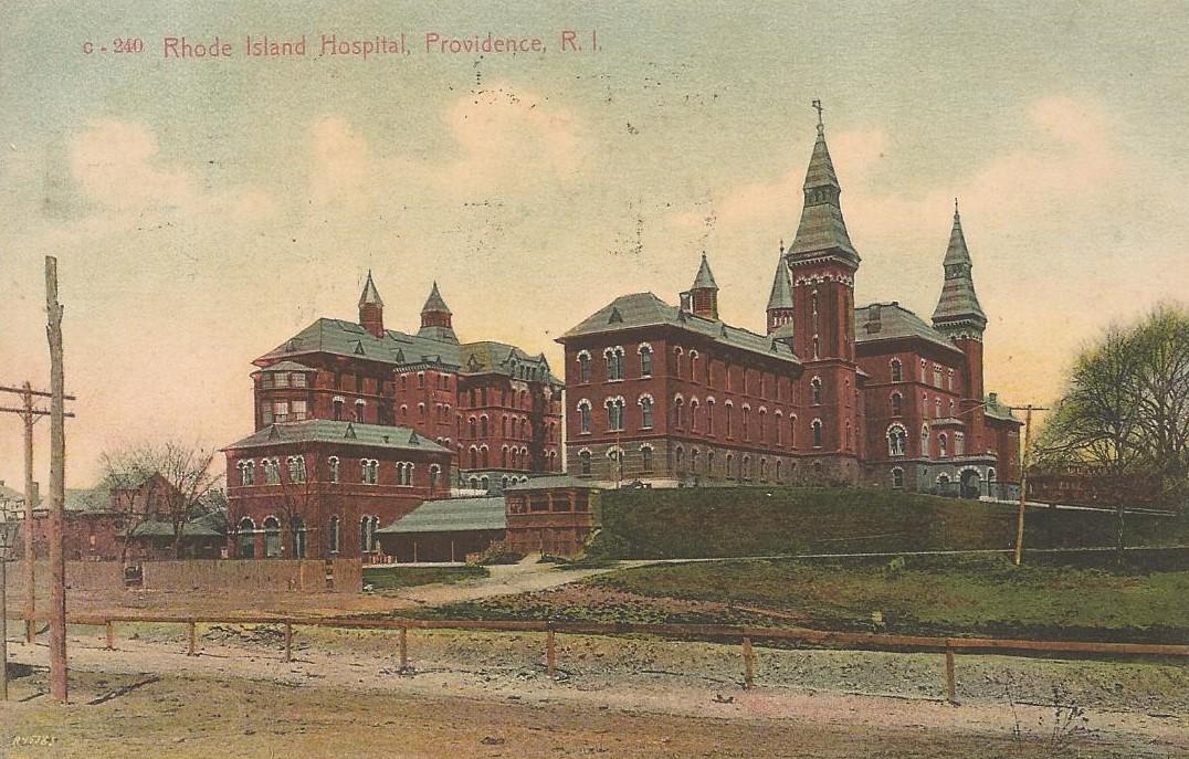 THE OLD RHODE ISLAND HOSPITAL - 1901