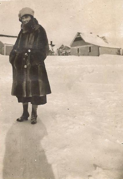 SNOW ON THE FARM - 1907
