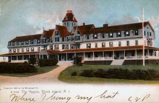 BLOCK ISLAND HYGEIA HOTEL - 1907
