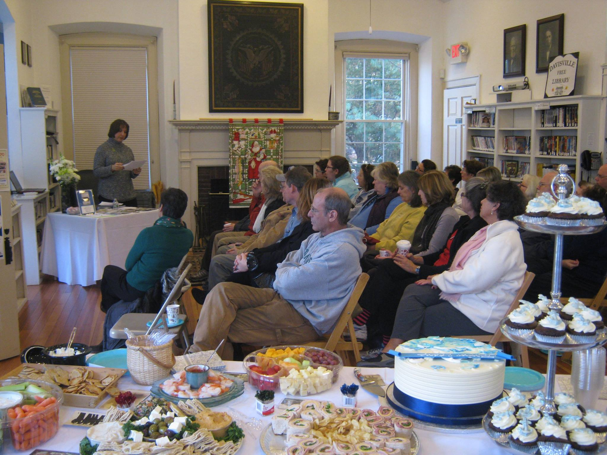 The Rhode Island Book Launch at the Davisville Free Library